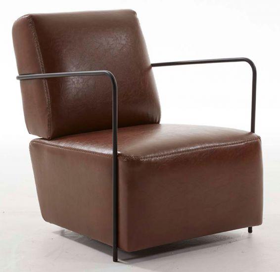 LaForma Gamer Loungestol - Mørk brun