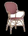 Sika-Design - Isabell Hagestol m/armlen - Burgundy Red