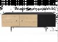 Woodman - Jugend TV-bord - Svart