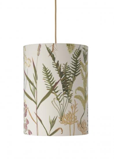 Ebb&Flow - Lampeskjerm, botanical, Ø30, loftlampe