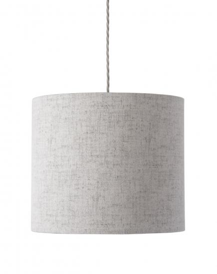 Ebb&Flow - Lampeskjerm, Sølv marl, Ø35