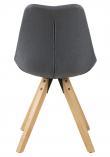 Fryd Spisebordsstol - Mørk Grått t stoff