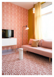Zuiver Beverly Teppe - Pink, 170x240