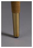Dutchbone Lunar Spisebordstol - Okker Velour