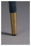 Dutchbone Lunar Spisebordstol - Petrol Velour