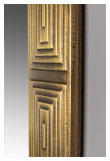Dutchbone Volan Speil - Messing