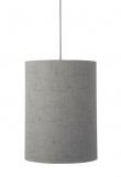 Ebb&Flow - Lampeskjerm, grå marl, Ø30