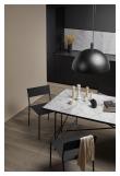 HANDVÄRK Spisebord 230x96 - Grå marmor