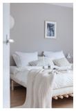 Pace Sengeramme Sort, Comfort Futon madrass, Offwhite, 180X200