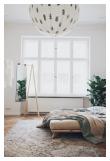 Senza Sengeramme Natur, Comfort Futon madrass, Sort, 160x200