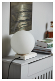 Nordal Enyo Bordlampe - Matt Hvit