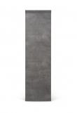 Temahome Dublin Reol - Mørk Betongrå, 105x120