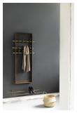 We Do Wood Coat Frame - Røkt Eik/Messing