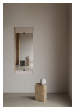 We Do Wood Layer Mirror - Powder Rose