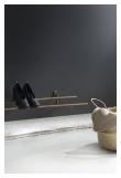 We Do Wood Shoe Rack - Røkt Eik/Messing