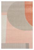 Zuiver Hilton Teppe - Grå/Pink, 160X230