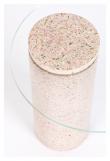 Zuiver Rosalina Sidebord - Pink Terrazzo, Ø40