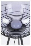 Zuiver Smokey Gulvlampe - Smoked glass