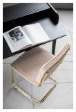 Zuiver Teddy Spisebordstol - Pink Plysj