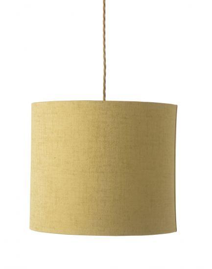 Ebb&Flow - Lampeskjerm, gul marl, Ø35