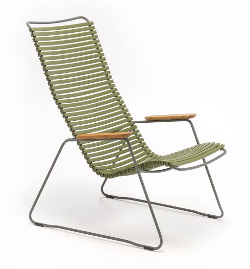 HOUE - CLICK Loungestol - Olive