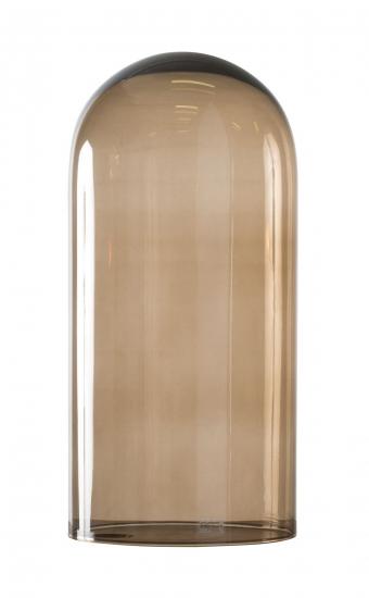 Ebb&Flow - Glasdome til Speak UP! Lamp, Chestnut, Ø20