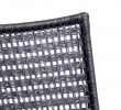 Cane-line - Straw Spisebordsstol - Sort