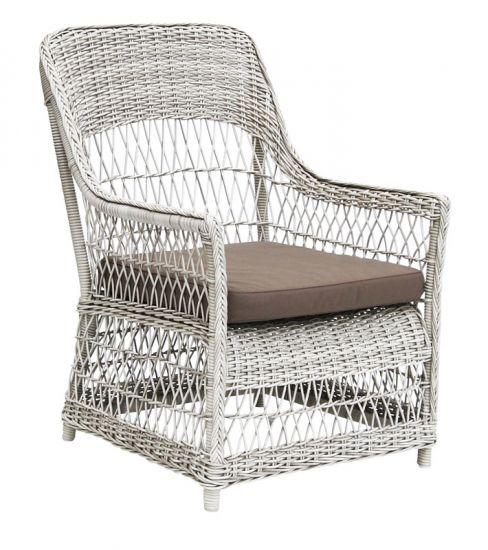 Sika-Design - Dawn Lounge Stol Hvit
