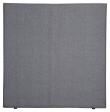 Alvik sengegavl, Mørkegrå stoff, B:120
