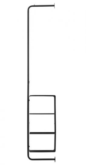 House Doctor - Ways Rack m/4 hyller - Svart