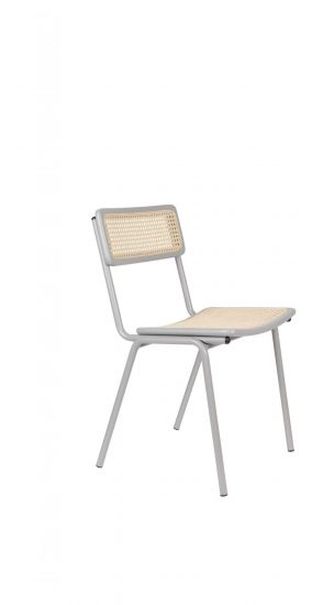Zuiver Jort Spisebordstol - Grå/Natur