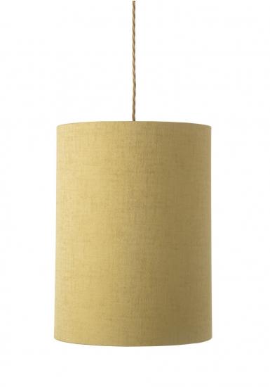 Ebb&Flow - Lampeskjerm, gul marl, Ø30