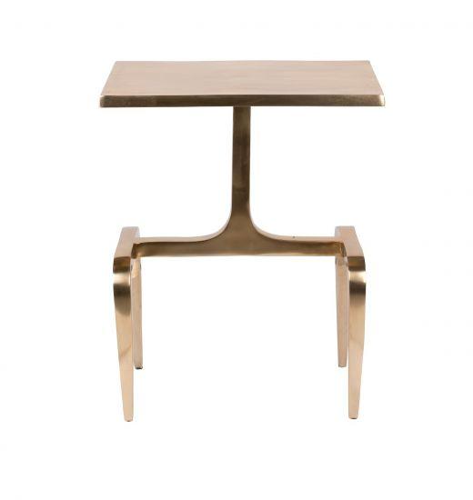 Dutchbone Hips Sidebord - Aluminium