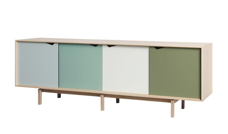 Andersen Furniture - S1 Skjenk - Eik såpe - Oliven
