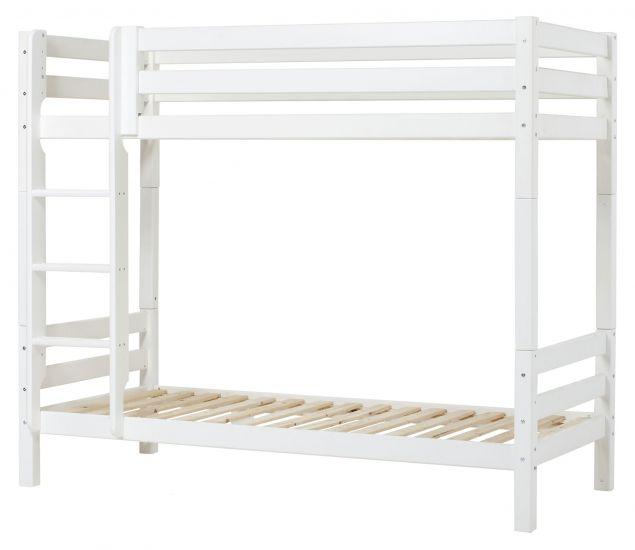 Hoppekids Premium Køyeseng sengehest , Hvit, 90x200