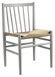 FDB Møbler J80 Spisebordstol - Bøk Lysegrå