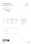 Temahome Oval Sofabord - Valnøttfinér