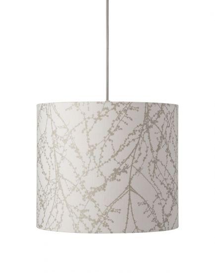 Ebb&Flow - Lampeskjerm, branches, hvit/Sølv, Ø35