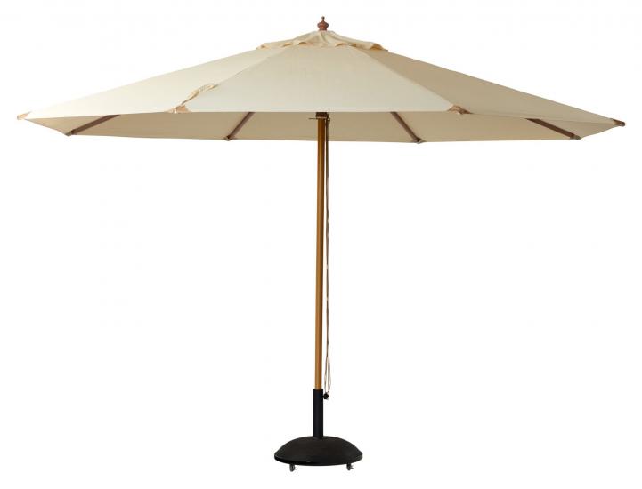 Lizzano Parasoll Ø400 - Offwhite