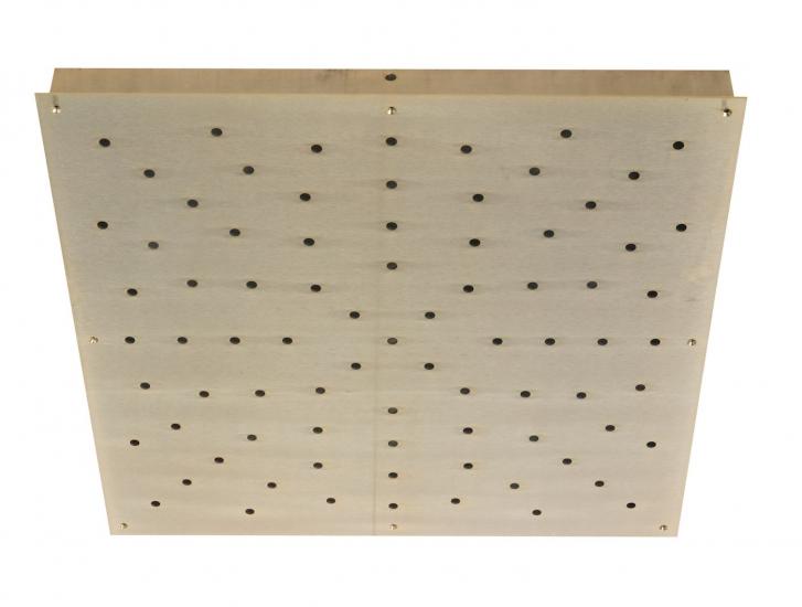 Ebb&Flow - Ceiling box, square, L, Gull