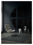 Fabula Living Aster Luvteppe - Grå/Sort, 200x300