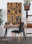 homii - Skrivebord m. 2 skuffer