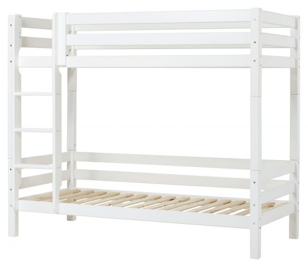 Hoppekids Premium Køyeseng, Hvit, 90x200