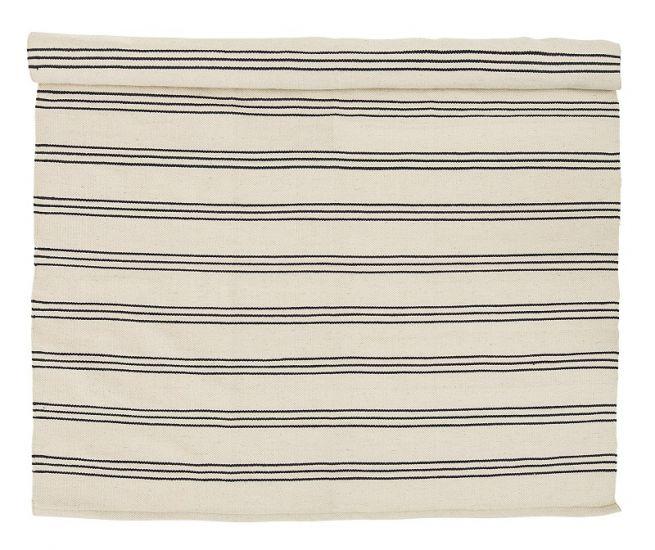 Bloomingville - Teppe m/smal stripe - 240x140 cm