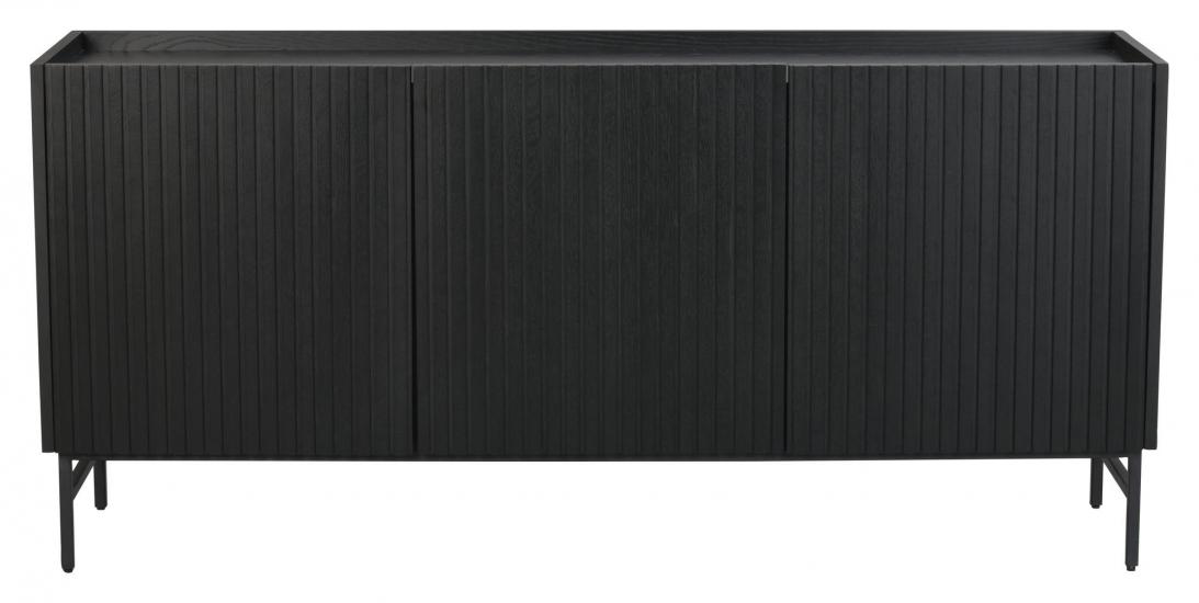 Rowico Lancaster Skjenk - Sort, B160