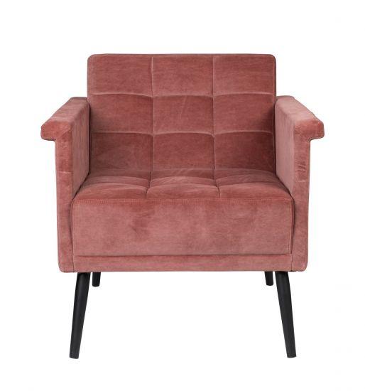 Dutchbone Sir William Loungestol - Vintage Pink