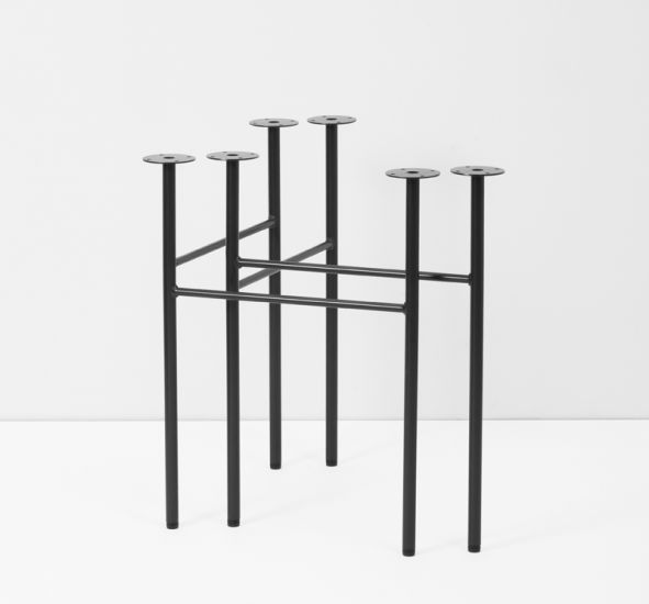 ferm LIVING - Mingle Bord bukke 2 stk. - B68 - Svart