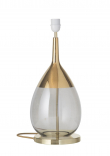 Ebb&Flow - Lute lampefot, smokey grå/Gull, Gull base