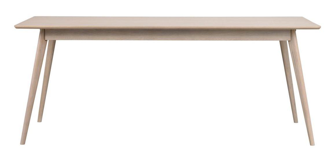 Yumi Spisebord, Hvitvasket eikefinér, 190x90