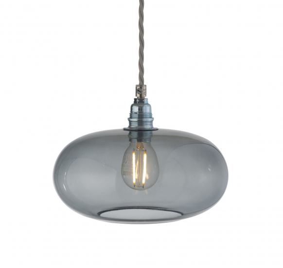 Ebb&Flow - Horizon pendel, Ø21cm smokey grå